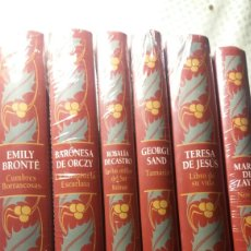 Libros: SEIS VOLÚMENES DE GRANDES ESCRITORAS NUEVOS. Lote 127160335