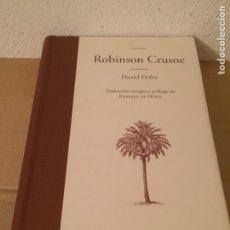 Libros: LIBRO ROBINSON CRUSOE - EDITORIAL EDHASA. Lote 127670046