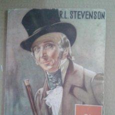 Libros: COLECCION TESORO VIEJO NUMERO 8. EL MUERTO VIVO. STEVENSON.. Lote 128102903