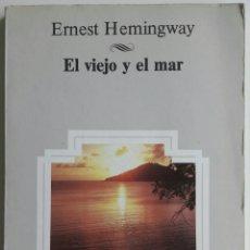 Libros: LIBRO EL VIEJO Y EL MAR. Lote 128144004