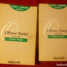 Libros: OLIVER TWIST. CHARLES DICKENS. TRAD. PAU ROMEVA. 2 VOLS. (CATALÀ). Lote 131379034