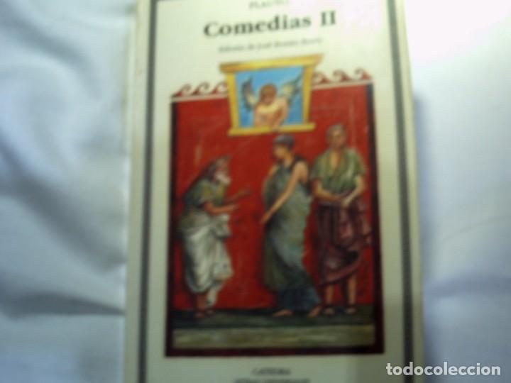 PLAUTO. COMEDIAS II . CATEDRA LETRAS UNIVERSALES. (Libros Nuevos - Literatura - Narrativa - Clásicos Universales)