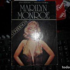 Libros: MARILYN MONROE LENA PEPITONE WILLIAM STADIEM CONFIDENCIAL . Lote 133862990