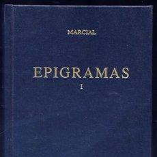 Libros: MARCIAL, MARCO VALERIO. EPIGRAMAS. 1997.. Lote 139275430