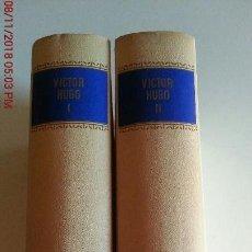 Libros: LOS MISERABLES - VICTOR HUGO - 2 TOMOS. Lote 139501258