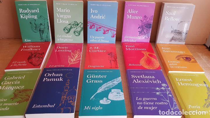 PREMIOS NOBEL DE LITERATURA / COLECCIÓN COMPLETA DE 15 LIBROS / NUEVA A ESTRENAR / ENVÍO INCLUIDO. (Libros Nuevos - Literatura - Narrativa - Clásicos Universales)