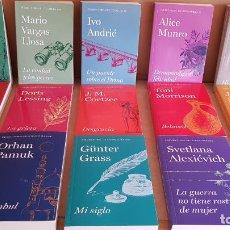 Libros: PREMIOS NOBEL DE LITERATURA / COLECCIÓN COMPLETA DE 15 LIBROS / NUEVA A ESTRENAR / ENVÍO INCLUIDO.. Lote 140568802