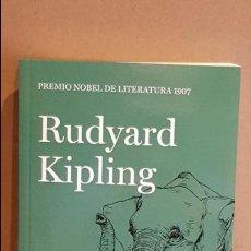 Libros: KIM / RUDYARD KIPLING / NOBEL DE LITERATURA 1907 / NUEVO. Lote 140596646
