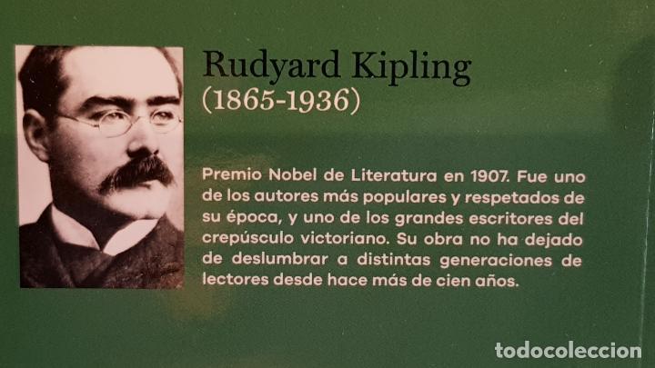 Libros: KIM / RUDYARD KIPLING / NOBEL DE LITERATURA 1907 / NUEVO - Foto 2 - 140596646