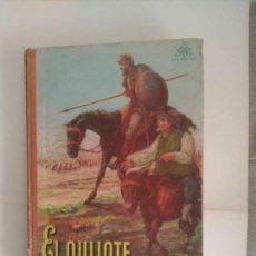 Libros: EL QUIJOTE- EDIC/ESCOLAR- EDIT/ LUIS VIVES-AÑO 1949. MUY ILUSTRADO.. Lote 141928874
