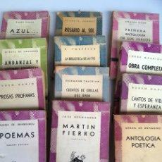 Libros: COLECCIÓN DE BOLSILLO. Lote 142663029