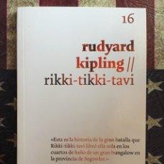 Libros: RIKKI TIKKI TAVI. Lote 143888197