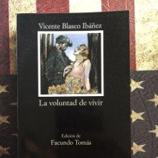 Libros: LA VOLUNTAD DE VIVIR. Lote 143893969