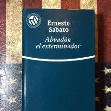 Libros: ABBADON EL EXTERMINADOR. Lote 143897353