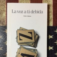 Libros: LA VOZ DE TI DEBIDA. Lote 143897673