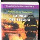 Libros: CLÁSICOS BILINGÜES: LA ISLA DEL TESORO/TREASURE ISLAND. STEVENSON, ROBERT LOUIS. Lote 144658446