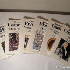 Libros: CLÁSICOS UNIVERSALES PLANETA. AÑOS 1977-1981-1983 Y 1985. NUEVOS. LOTE 3 . Lote 146680234