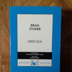 Libros: BRAM STOKER - DRÁCULA - AUSTRAL. Lote 147449010