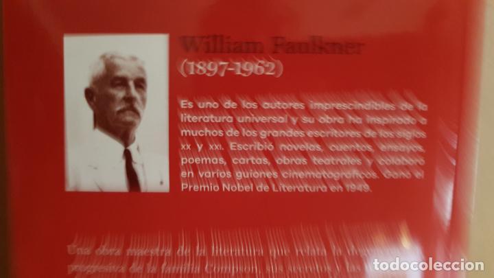 Libros: EL RUIDO Y LA FURIA / WILLIAM FAULKNER / NOBEL DE LITERATURA 1949 / NUEVO. - Foto 2 - 147684910