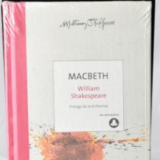 Libros: MACBETH, WILLIAN SHAKESPEARE. COLECCIÓN 400 ANIVERSARIO. Lote 147969850
