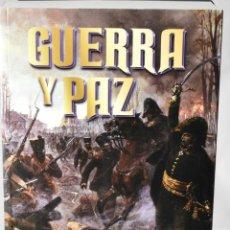 Libros: GUERRA Y PAZ, LEON TOLSTOI. Lote 148345422