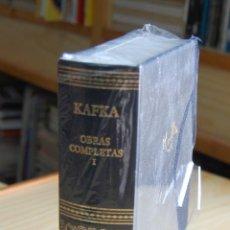 Libros: KAFKA OBRAS COMPLETAS I EDITORIAL AGUILAR . Lote 148378490