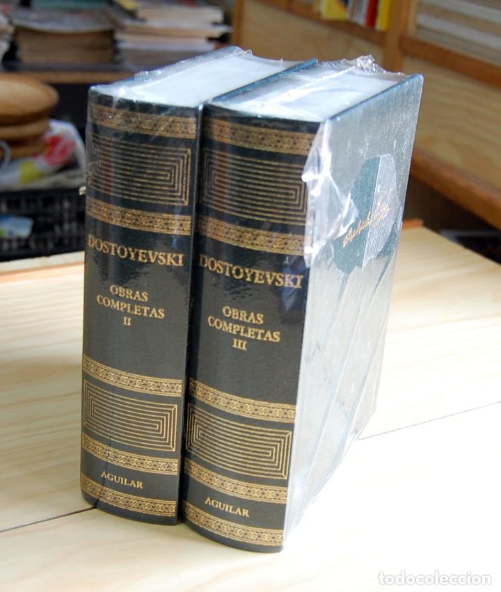 DOSTOYESVSKY OBRAS COMPLETAS II, III ED. AGUILAR (Libros Nuevos - Literatura - Narrativa - Clásicos Universales)