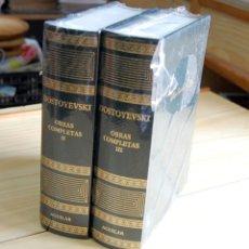 Libros: DOSTOYESVSKY OBRAS COMPLETAS II, III ED. AGUILAR. Lote 172865648