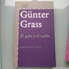 Libros: GUNTER GRASS - EL GATO Y EL RATÓN (NUEVO. EXCEDENTE DE LIBRERÍA). Lote 149124166