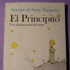 Libros: EL PRINCIPITO ANTOINE DE SAINT EXUPERY. Lote 150362032