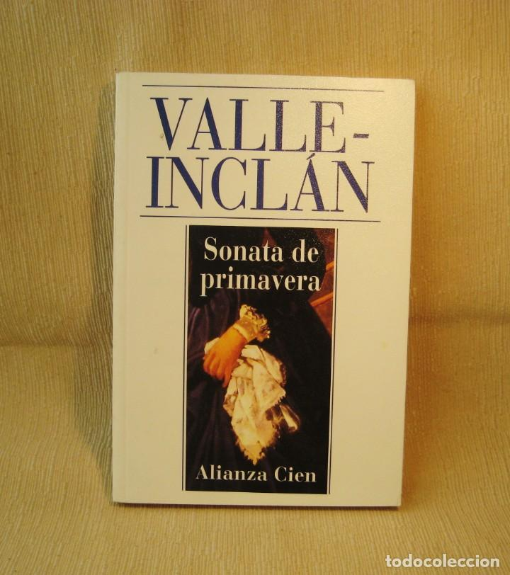 LIBRO SONATA DE PRIMAVERA. VALLE INCLÁN. (Libros Nuevos - Literatura - Narrativa - Clásicos Universales)