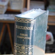 Libros: FAULKNER OBRAS COMPLETAS I EDITORIAL AGUILAR. Lote 151661798
