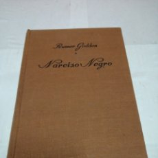 Libros: NARCISO NEGRO RUMER GODDEN PRIMERA EDICIÓN DICIEMBRE DE 1948 VERSIÓN ESPAÑOLA DE FRANCISCO BALDIZ. Lote 152809421
