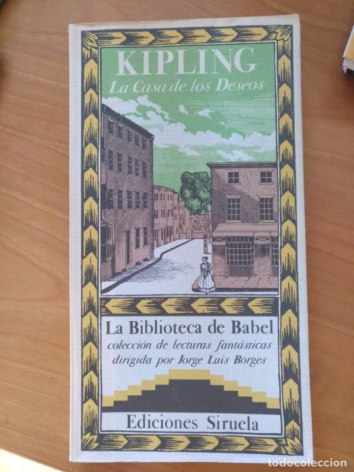 Delicioso dolor de muelas coser  la casa de los deseos. kipling. - Buy Universal Classical Books at  todocoleccion - 153040178