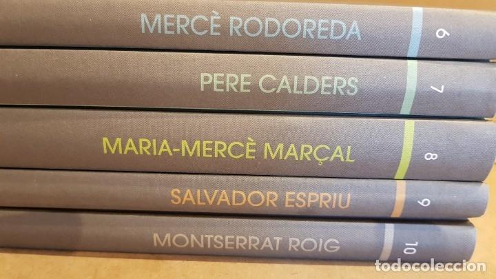 Libros: LES MILLORS OBRES DE LA NARRATIVA CATALANA DEL SEGLE XX / COMPLETA 20 TOMOS / NUEVOS. - Foto 5 - 157672846