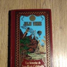 Libros: LAS HISTPRIAS DE JEAN-MARIE CABIDOULIN DE JULIO VERNE. Lote 167878108