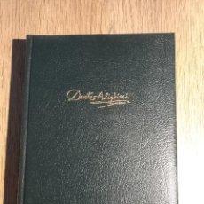 Libros: OBRAS COMPLETAS TOMO 1 DE DANTE ALIGHIERI. Lote 196146647