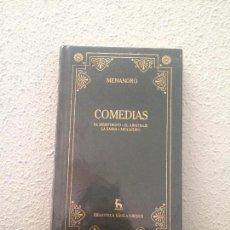 Libros: MENANDRO: COMEDIAS. Lote 168759444