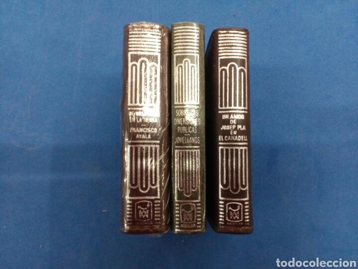 LOTE 3 TOMOS DE COLECCIÓN CRISOL PEQUEÑOS N°57-59-60 (Libros Nuevos - Literatura - Narrativa - Clásicos Universales)