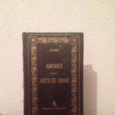 Libros: OVIDIO: AMORES. ARTE DE AMAR. Lote 168869392
