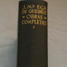 Libros: OBRAS COMPLETAS. TOMOS I,II, III. EÇA DE QUEIROZ, JOSE Mª.. Lote 169121204