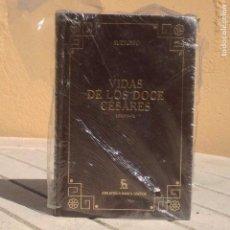 Libros: SUETONIO: VIDAS DE LOS DOCE CÉSARES (LIBROS IV-VIII). Lote 169128308