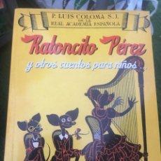 Libros: LUIS, EL RATONCITO PÉREZ Y OTROS CUENTOS PARA NIÑOS. Lote 172178894