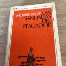 Libros: LAS SANDALIAS DEL PESCADOR. Lote 172753469