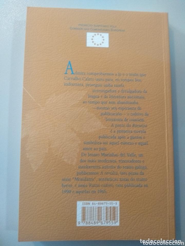 Libros: A gente da Barreira. Ricardo Carvalho Calero. Teatro J. Marinas del Valle - Foto 2 - 173655287