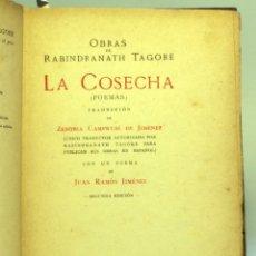 Libros: LA COSECHA / RABINDRANATH TAGORE 1918. Lote 176506269