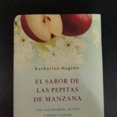 Libros: EL SABOR DE LAS PEPITAS DE MANZANA. Lote 176781228