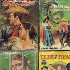 Libros: NOVELAS DE BOLSILIBROS DOS HOMBRES BUENOS.J.MALLORQUI AÑO:1958. Lote 177872415