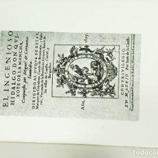 Libros: DON QUIJOTE DE LA MANCHA 4 TOMOS COMPLETA EDICIONES GINER 1967. Lote 178107912