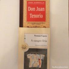 Libros: DON JUAN TENORIO - A SANGRE FRIA. Lote 178759665